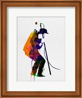 Framed Tom Watercolor