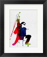 Framed Bono Watercolor