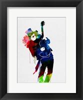 Framed Slash Watercolor