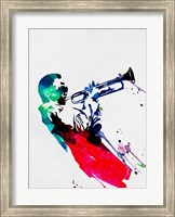 Framed Miles Watercolor
