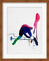 Framed Joe Watercolor