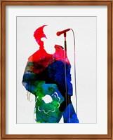 Framed Noel Watercolor