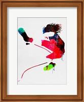 Framed Eddie Watercolor