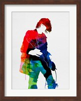 Framed Kurt Watercolor