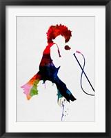 Framed Tina Watercolor