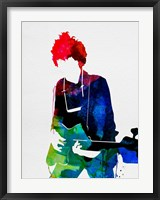 Framed Bob Watercolor