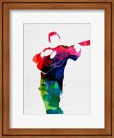 Framed Johnny Watercolor