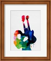 Framed Jimmy Watercolor