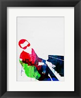 Framed Ray Watercolor