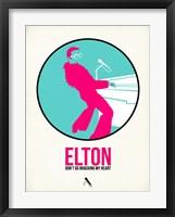 Framed Elton