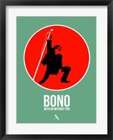 Framed Bono