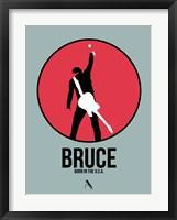 Framed Bruce