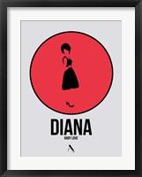 Framed Diana