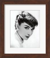 Framed Audrey Hepburn - Screen Test, c.1955