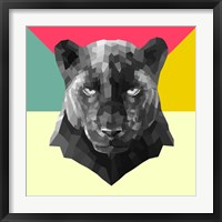 Framed Party Panther