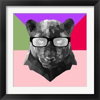 Framed Party Panther in Glasses