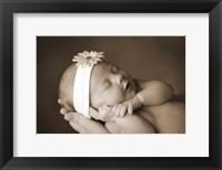 Framed Baby with Headband