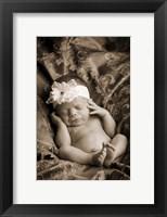 Framed Baby in Sepia 2
