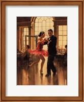 Framed Dance to the Music