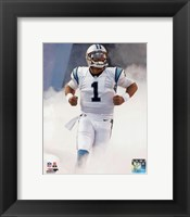 Framed Cam Newton 2015 Action