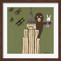 Framed LaLa and King Kong