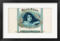 Framed Blue Poll