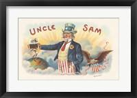 Framed Uncle Sam
