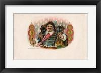 Framed Vintage Cigar Label II