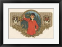 Framed Fox And Hound