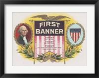 Framed First Banner