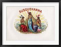 Framed Susquehanna