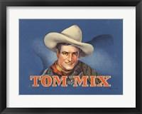 Framed Tom Mix