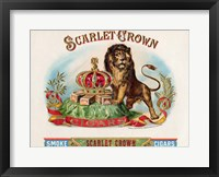 Framed Scarlet Crown