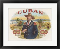Framed Cuban
