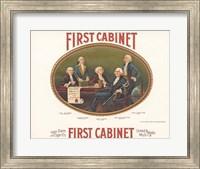 Framed First Cabinet