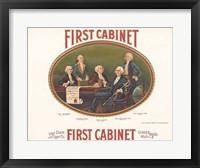Framed First Cabinet