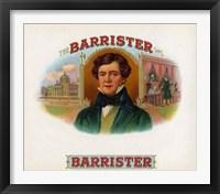 Framed Barrister