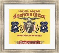 Framed American Citizen