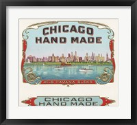 Framed Chicago Hand Made
