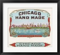 Framed Chicago Hand Made