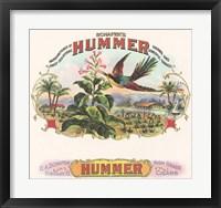 Framed Hummer