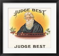 Framed Judge Best