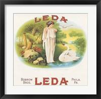 Framed Leda