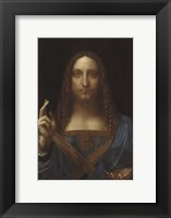 Framed Salvator Mundi