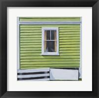 Framed Green Window