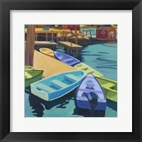 Framed Boats Vinal Haven