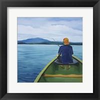 Framed Griffin Fishing