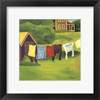 Framed Laundry Monhegan