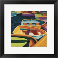 Framed So Freeport Dinghies