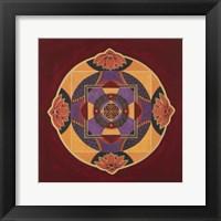 Framed Bliss Mandala